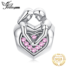 JewelryPalace Faithful Love 925 Sterling Silver Beads Charms Original For Bracelet original Jewelry Making