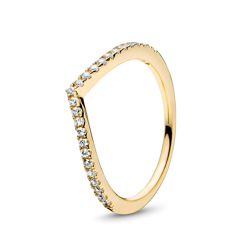 Кольцо на палец в форме сердечко серебряного цвета для женщин, европейская оригинальная Корона, изящные кольца на палец, свадебные украшения, 50 стилей, Прямая поставка - Цвет основного камня: Rings 020