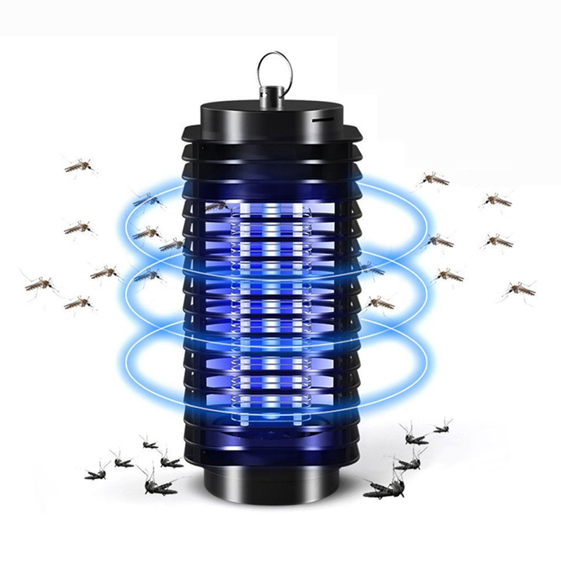 Electric LED Mosquito Insect Killer Lamp Fly Bug Repellent Anti Mosquito UV Night Light EU US Plug E27 USB Pest Repeller Lights