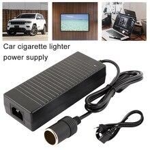 ولاعة سجائر للسيارة محول تيار متردد 110 فولت 220 فولت إلى 12 فولت 5A 6A 8A 10A محول الطاقة محول العاكس تيار مستمر T محول أخف وزنا