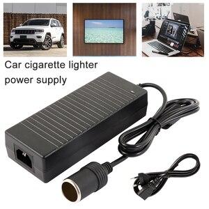 Image 1 - Car cigarette lighter AC adapter 110V 220V to 12V 5A 6A 8A 10A power adapter converter inverter DC T transformer lighter