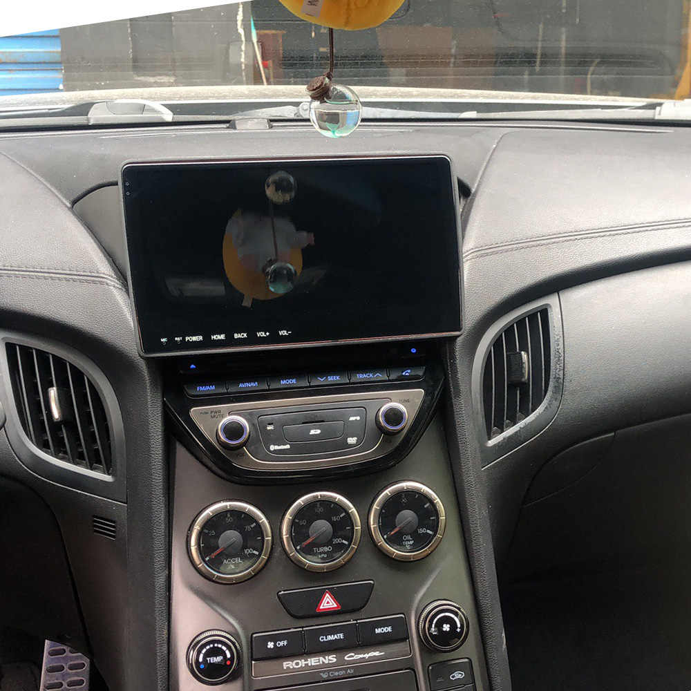 "Para Rohens Hyundai Coupe 2009-2012 de 9,66 ""IPS DSP coche multimedia video radio reproductor de DVD, sistema GPS navi control de voz HD Carplay"