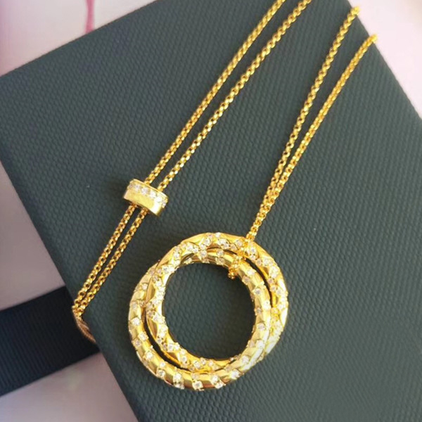 Collier réglable de fête de zircon cubique de bijoux en argent Sterling 925 de mode de concepteur 3A