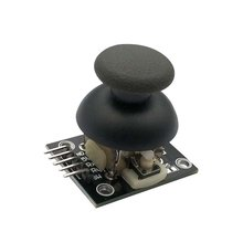 цена на For Arduino Dual-axis XY Joystick Module Higher Quality PS2 Joystick Control Lever Sensor KY-023 Rated 4.9 /5