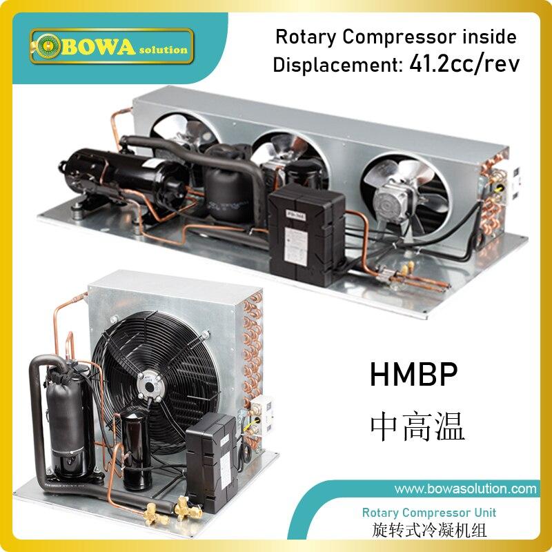 Ev Aletleri'ten Dondurucu Parçaları'de 2HP hava soğutmalı yoğuşmalı birim ile retoary kompresörü özelleştirilebilir  farklı kondansatörler ve bileşenleri olabilir mevcut title=