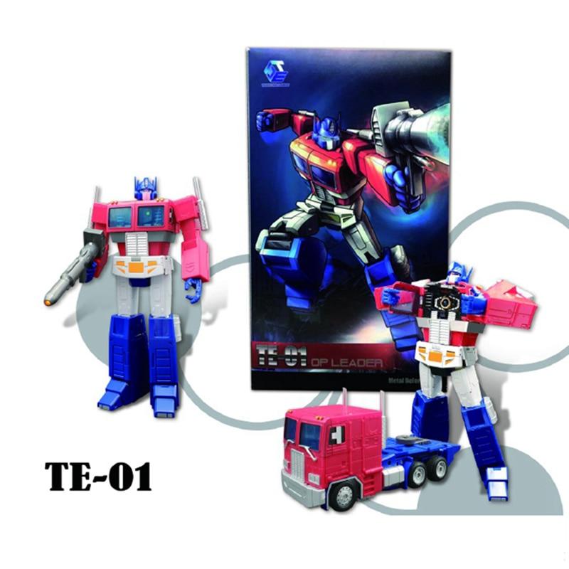 G1 TE transformación OP Commander TE 01 TE01 TE 01E Versión 3,0 TF elemento acción figura colección juguetes deformación modelo niños - 2
