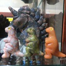 Crystal naturel The dinosaure, 1 pièce, pierres diverses, artisanat, petite décoration, pour la maison