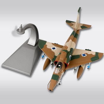 1:72 Alloy Fighter Toy Plane Model A-4 Fighter Air Force Fighter Metal Aircraft Airplane Models Adult Children Toy Display фото