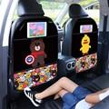 Мультяшный милый чехол на заднее сиденье автомобиля Защита для детей 1 шт. противоударный коврик водонепроницаемый противоударный защитны...