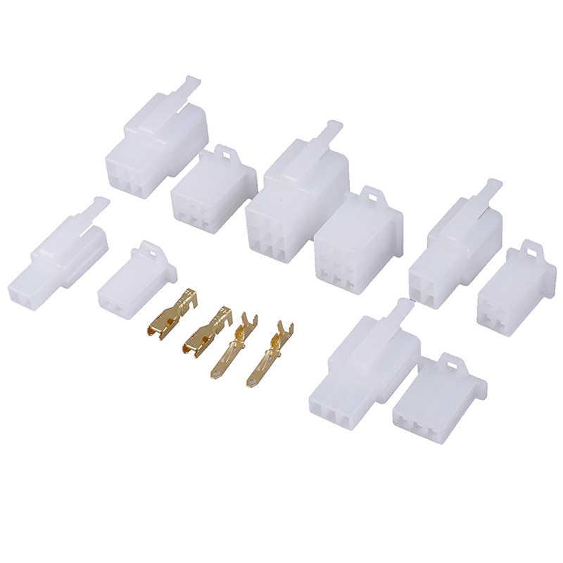 5 ensemble/lot 2.8mm 2/3/4/6/9 broches Automobile fil électrique auto/voiture 2.8 connecteur pour e-bike, Automobile, moto etc.