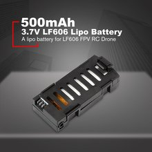 3.7V 500mah Lipo Battery Replace Rechargeable Batteries For LF606 FPV RC Drone Spare Parts