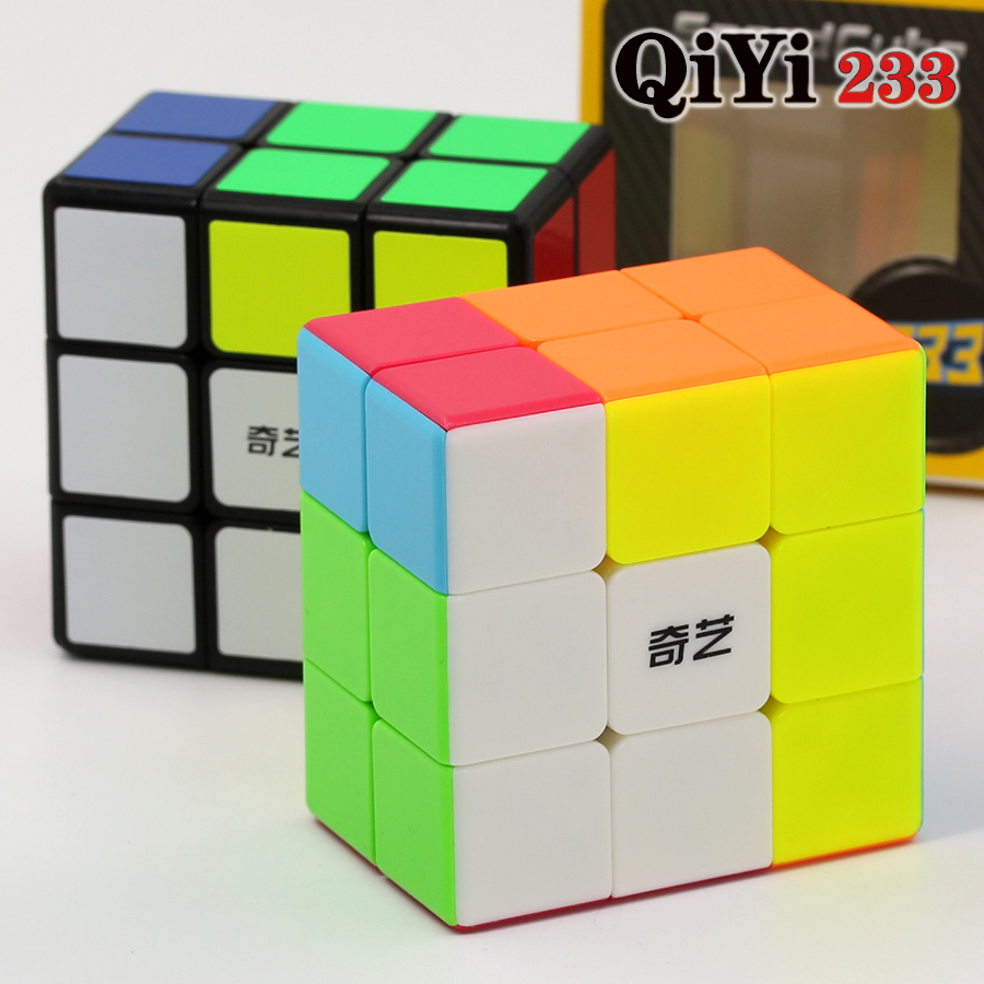 Magic Cube Puzzle QiYi(XMD) 2x3x3 233 332  Professional Educational Speed Cube Twist Wisdom Game Toys Gift