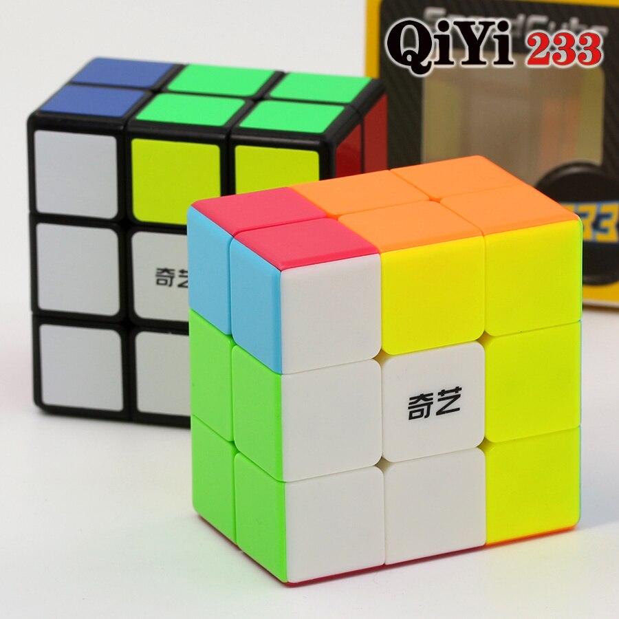 Magic cube puzzle QiYi(XMD) 2x3x3 233 332  professional educational speed cube twist wisdom game toys gift