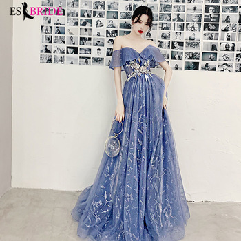 Fantasy forest party evening dress