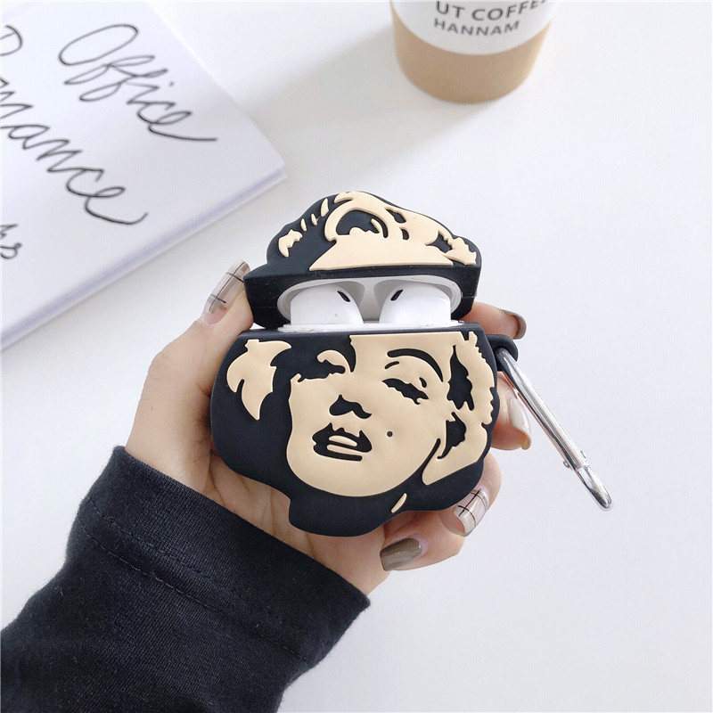 Marilyn Monroe AirPod Case 3