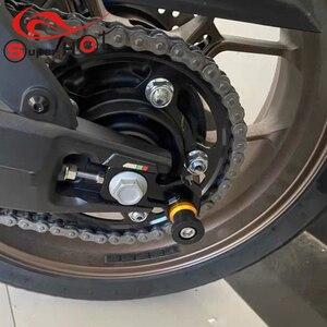 Image 2 - Deslizadores para Honda CB650R CBR650R CB650F CBR650F CB CBR 650R 650F, accesorios de ajuste de cadena, marco de bloque, basculante