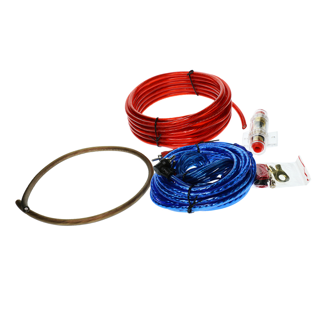 4 stücke Ersatz Auto Stereo Audio Subwoofer Verstärker Verdrahtung Kabel Set