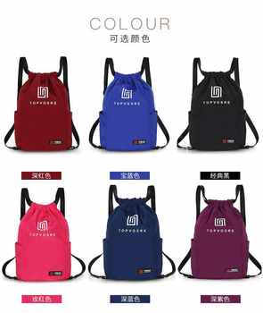 2020 New Oxford Cloth Backpack Fashion Trend All-match Bucket Bag Outdoor Casual Men and Women Backpack
