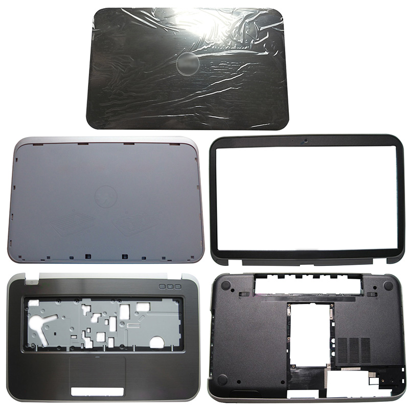 NEW For DELL Inspiron 15R 5520 5525 7520 M521R LCD Back Cover/Front Bezel/Hinge/Palmrest/Bottom Case 0T87MC 00G9RK 0M7F4J 0K1R3M