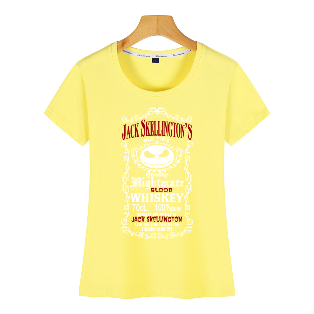 Jack Skellington Nightmare Blood Whiskey T-Shirt