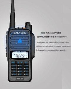 Image 5 - جديد 2021 baofeng uv 9r ERA زائد IP68 مقاوم للماء اسلكية تخاطب طويلة المدى 30 كجم سيارة cb هام راديو hf جهاز الإرسال والاستقبال UHF محطة راديو