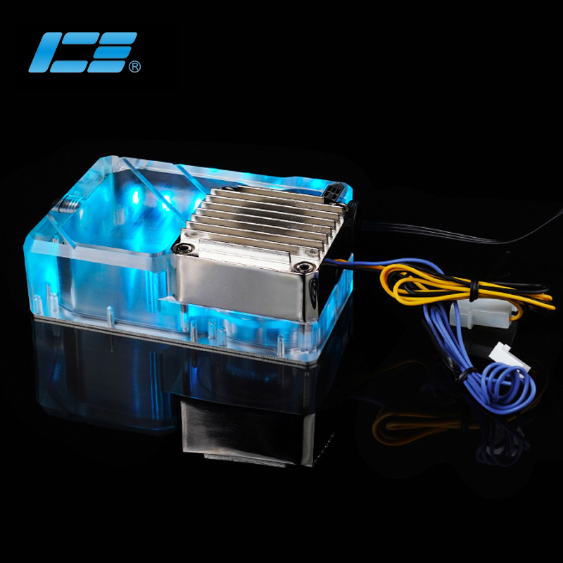 Iceman cooler Ncase M1 V4 V5 V6 Professionally Used DDC Reservoir ARGB Transparent Support AURA Motherboard145ML Volume