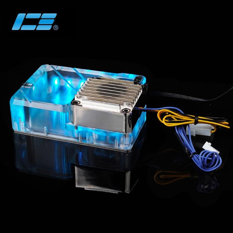 Iceman Cooler Ncase M1 V4 V5 V6 Professionally Used DDC Reservoir ARGB Transparent ,Support AURA Motherboard,145ML Volume