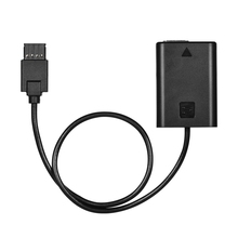 NP-FW50 Dummy Battery Power Adapter Cable for DJI Ronin S Gimbal Stabilizer Compatible with Sony A7/A7R/A7S/A7II/A7RII