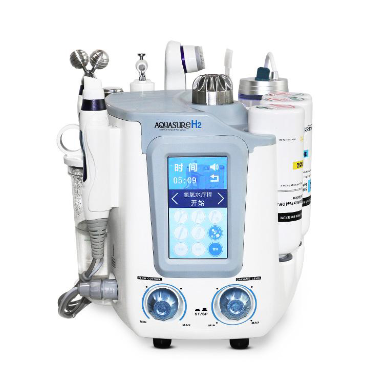 2019 New Hydra Facial Skin Deep Cleanser Water Aqua Jet Oxygen Peeling Spa Grinding Machine