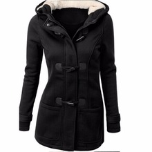 Especially long trench coat for women Spring Autumn Overcoat Female Long Hooded