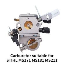 Nieuwe Carburateur Vervanging Voor Stihl Ms171 Ms181 Ms211 Ms170 Kettingzaag Stihl Voor Zama C1Q-S269 1139 120 0619 1139 120 7100