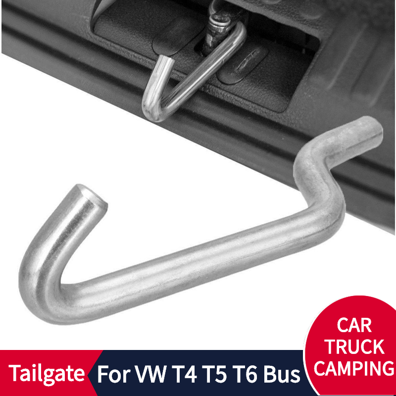 Stainless Steel Tailgate Standoff  Camping Air Lock In RV Part Camper Van Caravan Tailgate Standoff For VW T4 T5 T6 Accessories