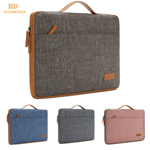 DOMISO 10 11 13 14 15.6 Inch Laptop Bag Canvas Notebook Bag Case Handbag for MacBook Microsoft Surface Lenovo HP