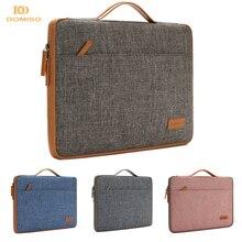 DOMISO 10 11 13 14 15.6 Inch Laptop Tas Canvas Notebook Bag Case Handtas voor MacBook Microsoft Oppervlak Lenovo HP