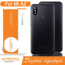 Original Back Housing Replacement for Xiaomi Mi A2 Back Cover Battery Rear Door Housing Case with adhesive Sticker