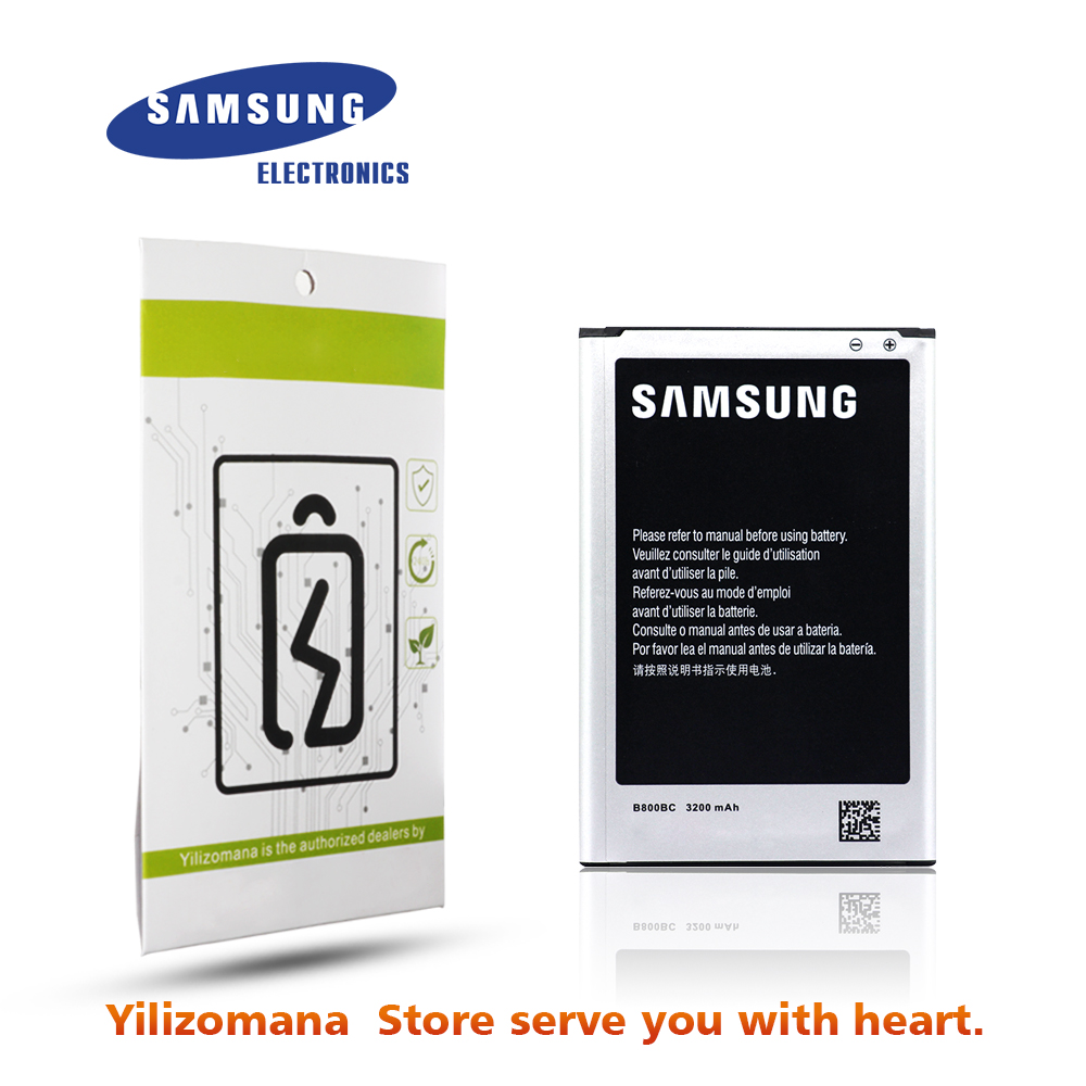 SAMSUNG Replacement Note Batteria N9005 B800BE Original for Galaxy 3-battery/B800be/Nfc