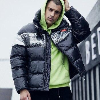 Winter Jacket Men Parka Coat Men Windbreaker Thick Warm Snow Coat Overcoat Cotton Coat Casaco Masculino Veste Hiver Homme L-XXL