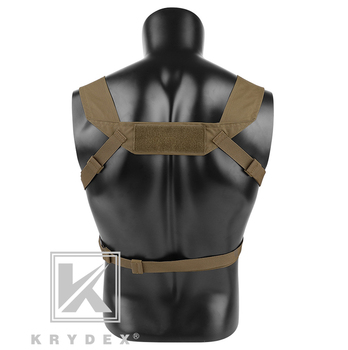 KRYDEX MK3 Modular Tactical Chest Rig Chassis Spiritus Airsoft Hunting Military Tactical Carrier Vest w/ 5.56 223 Magazine Pouch 2