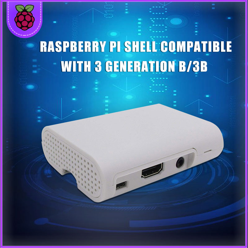Raspberry PI 3 Model B Case Cover Shell ABS Plastic Case Used For Raspberry PI 3 Case RPI124