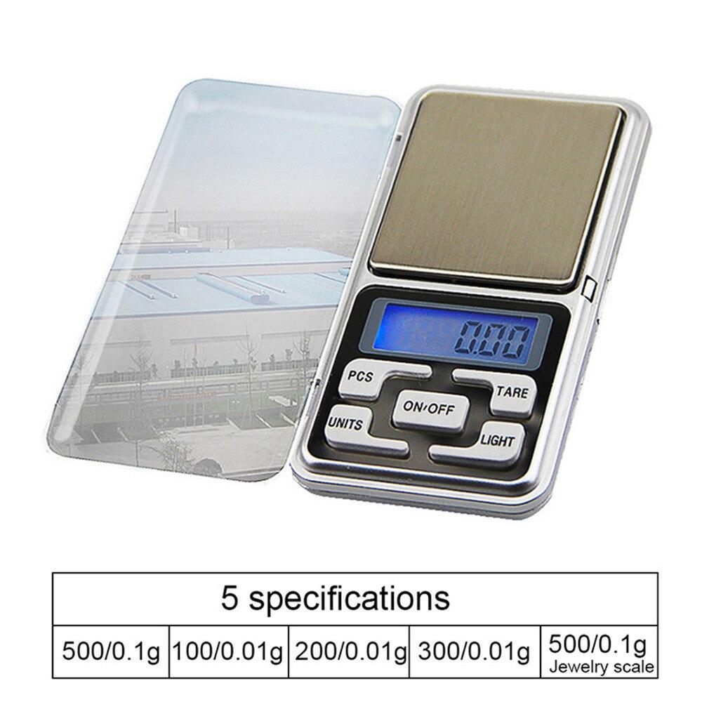Высокоточные цифровые кухонные весы с ЖК-дисплеем с подсветкой, портативные электронные цифровые кухонные весы 200/500 г X 0,01 г