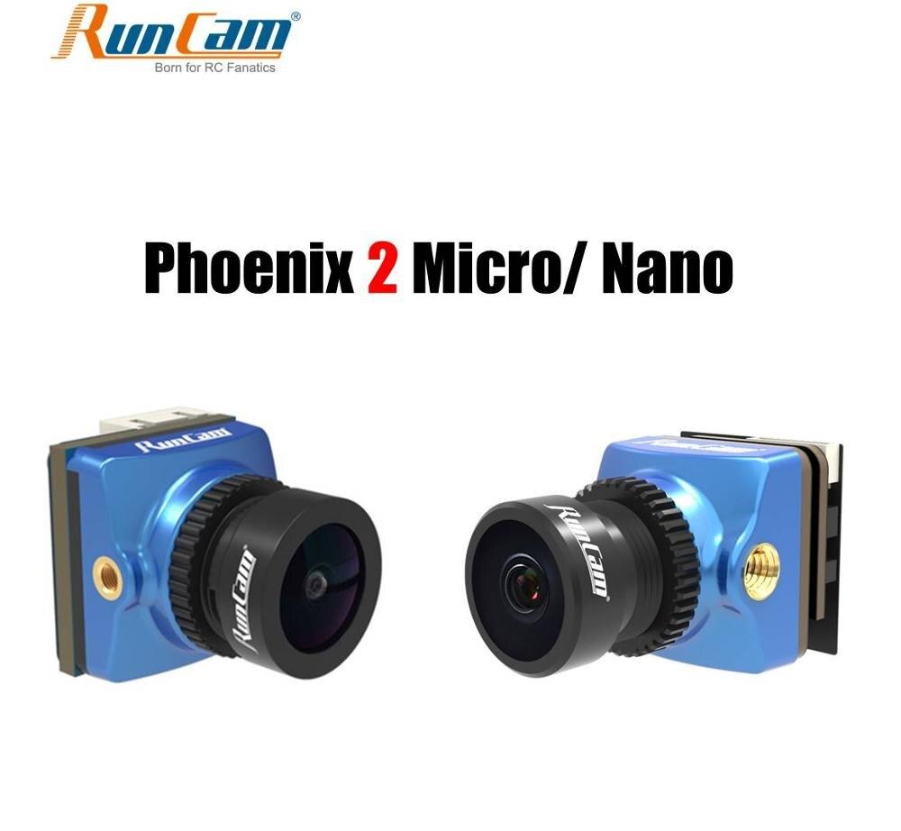Runcam Phoenix 2 Micro Nano 1000tvl 2.1mm Freestyle FPV Camera 16:9/4:3 PAL/NTSC Switchable Micro 19x19mm