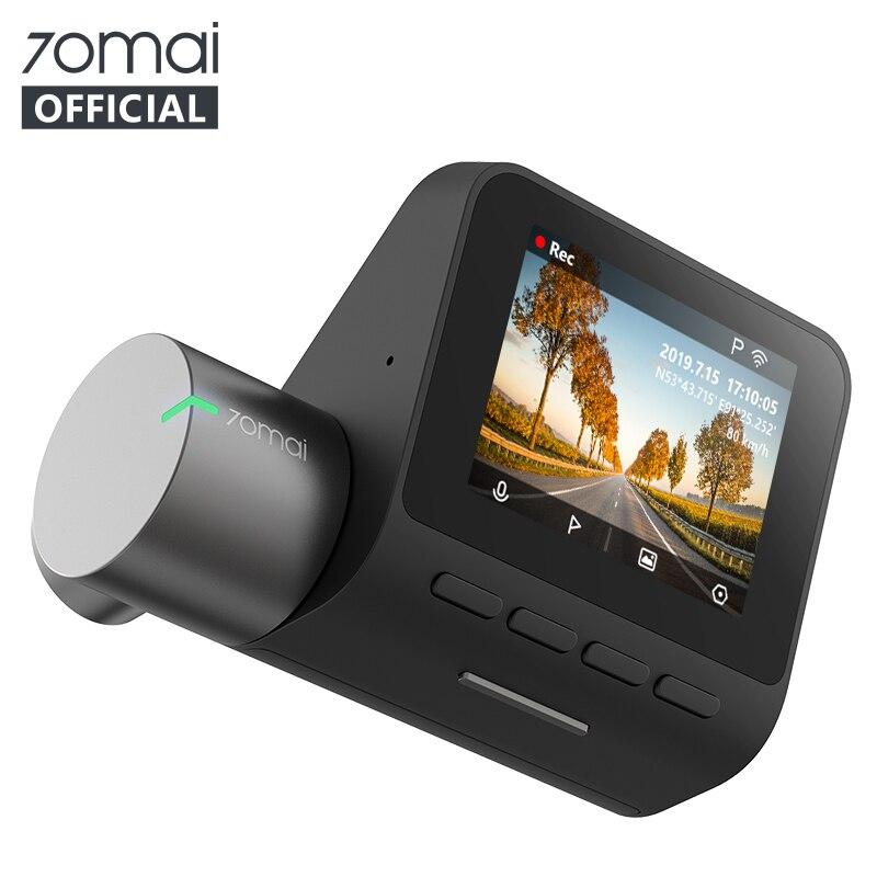 Original 70mai Dash Cam Pro Englisch Voice Control 1944P 70MAI Auto DVR Kamera GPS ADAS 140FOV Nachtsicht 24H Parkplatz Monitor