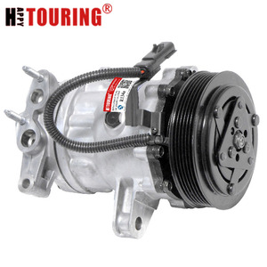 Image 1 - Voor 02 05 Jeep Liberty 3.7L SD7H15 A/C Compressor Co 4335C 55037466 55037466AE 55037466AC 4852 4335 67576 68576