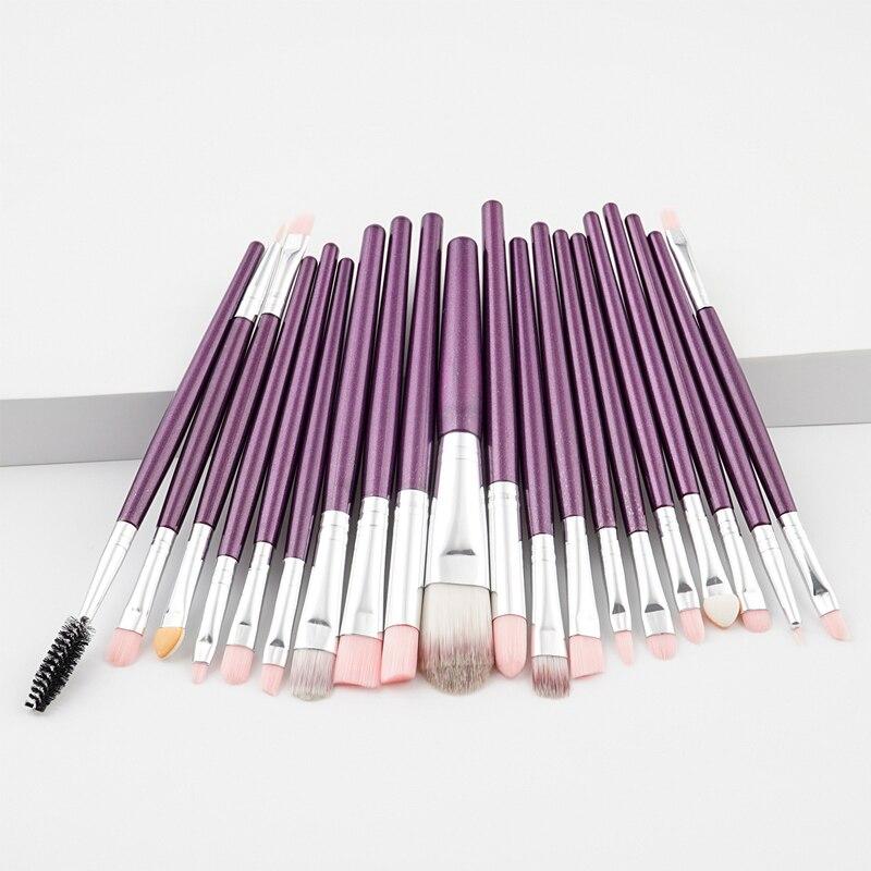 1 набор кистей для макияжа, основа для пудры, румяна, тени для век, консилер для губ, Кисть для макияжа глаз, профессиональная косметика, инстр...