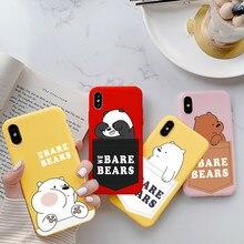 Bonito Dos Desenhos Animados Urso Capa Para Huawei Y5p Y8S Y8p Y6p Y7p Honor Play 9A 9S 9C X10 10 20 9 8X 9X Lite 30 S 10i 8A Nova 5T 7 Pro Caso