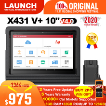 "Launch X431 V plus 10"" X431 V+ V4.0 OBD2 Diagnostic Scanner Automotive OBD Auto Diagnostic Tool Car OBD2 Scanner Car diagnostics"