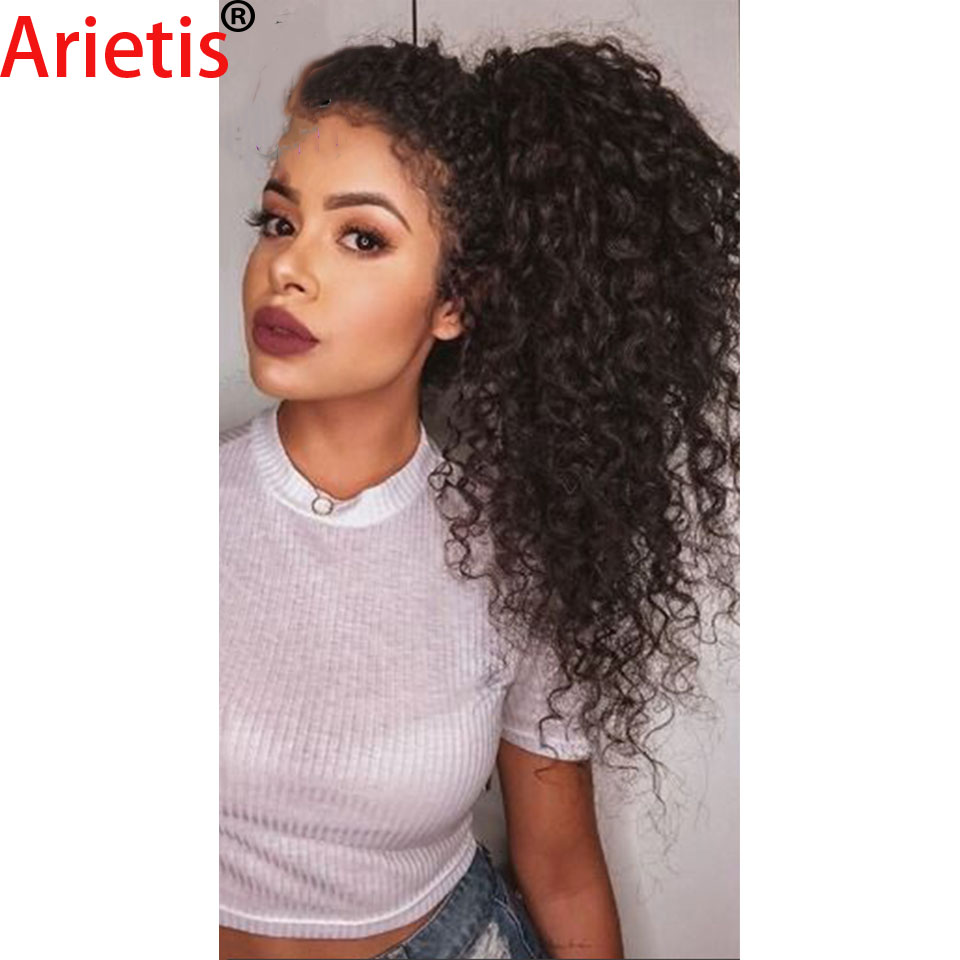 Arietis 100% Remy Peruvian Afro Curly 8