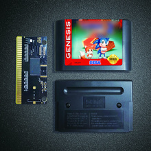 Soniced Game The Hedgehog 2   16 Bit MD Game Card for Sega Megadrive Genesis Video Game Console Cartridge