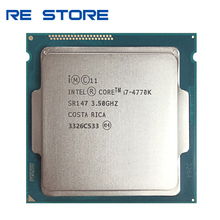 Verwendet Intel Core i7 4770K SR147 3,5 GHz Quad Core CPU Desktop Prozessor