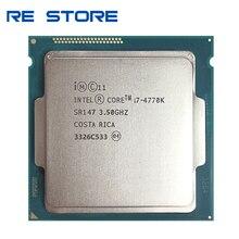 인텔 코어 i7 4770K SR147 3.5GHz 쿼드 코어 CPU 데스크탑 프로세서 사용